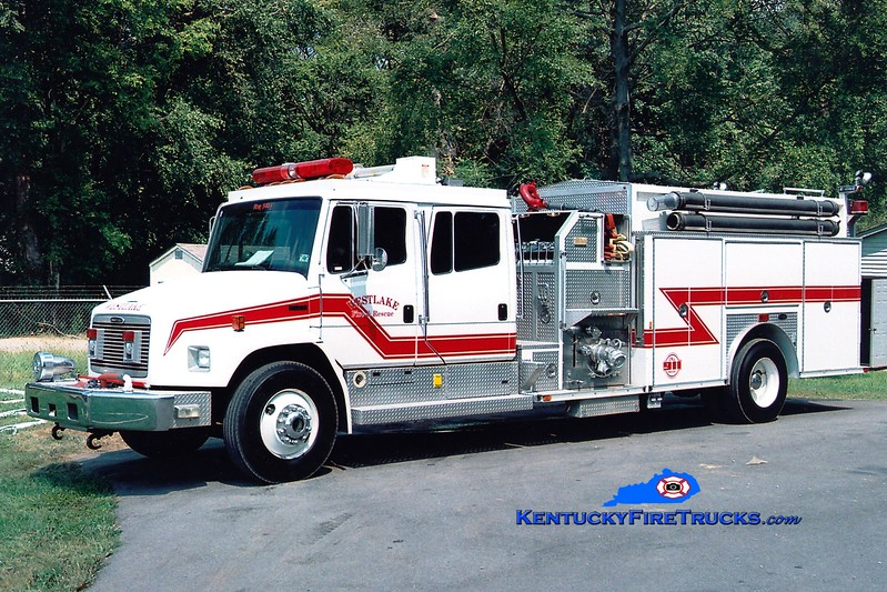 <center> Westlake Chemical Engine 1 <br> 1996 Freightliner FL80/E-One 1250/750/80<br> Greg Stapleton <br> </center>