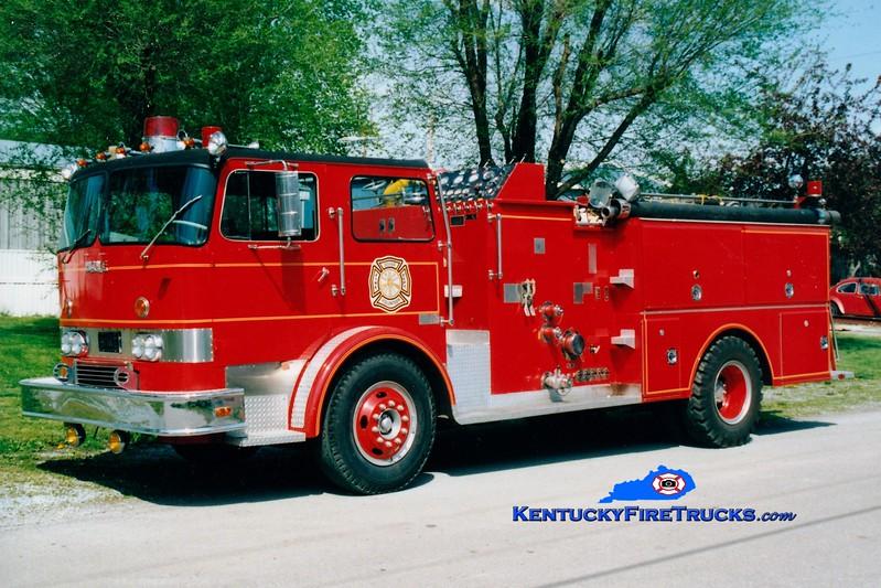 <center> RETIRED <br> Dover  Engine 503  <br> 1970 International CO-8190/Howe 1000/1000 <br> Greg Stapleton photo </center>
