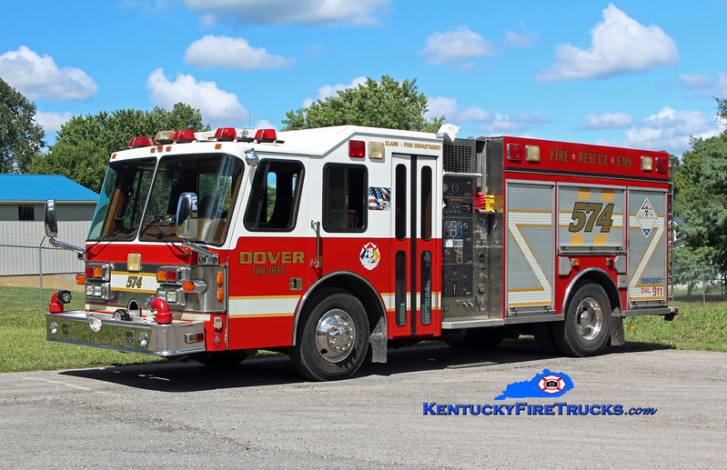 Dover  Engine 574<br /> x-Miami, FL<br /> 1993 Simon-Duplex D-9000/Saulsbury 1250/500/30<br /> Kent Parrish photo