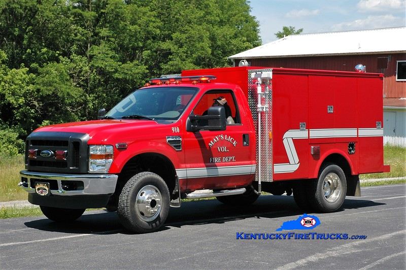 Mays Lick  Rescue 910<br /> 2010 Ford F-250 4x4/Wynn CAFS<br /> Greg Stapleton photo