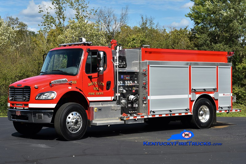 May's Lick  Tanker 906<br /> 2018 Freightliner M2-106/Rosenbauer 750/2000<br /> Greg Stapleton photo