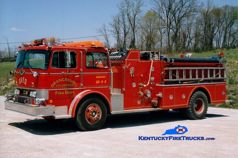<center> RETIRED <br> Orangeburg  Engine 301 <br> 1971 International CO-1890/Howe 1250/600 <br> Greg Stapleton photo </center>