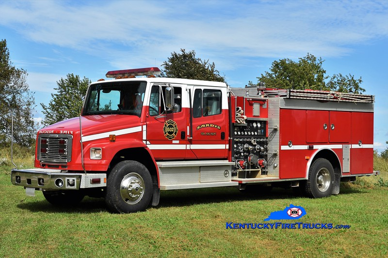 Sardis  Engine 602<br /> x-Cobb County, GA<br /> 1997 Freightliner FL80/Smeal 1500/750<br /> Greg Stapleton photo