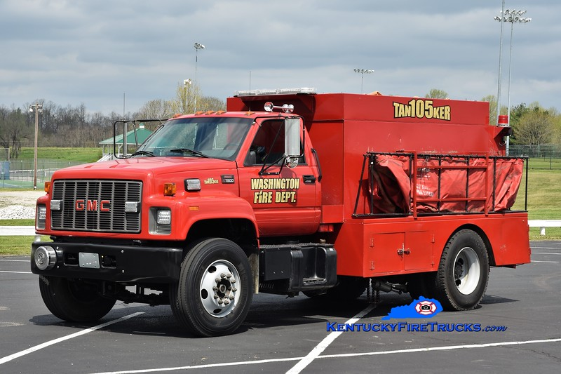 Washington Tanker 105 <br /> x-Washington-Maysville, KY<br /> 2000 GMC 7500/Local 250/2000 <br /> Greg Stapleton