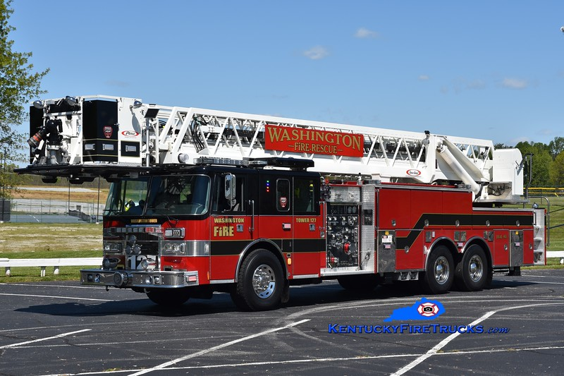 Washington  Tower 127<br /> x-Overland Park, KS & Glenpool, OK <br /> 1997 Pierce Lance 1500/300/100'<br /> Greg Stapleton photo