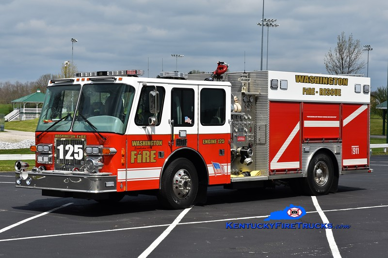 Washington  Engine 125<br /> x-Northampton, MA <br /> 1994 Simon-Duplex D9400/Saulsbury 1500/1250<br /> Greg Stapleton photo