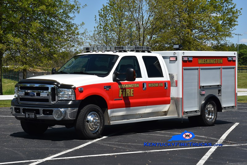 Washington  Rescue 110<br /> x-New Castle County, DE <br /> 2005 Ford F-550 4x4/CTBW<br /> Greg Stapleton photo