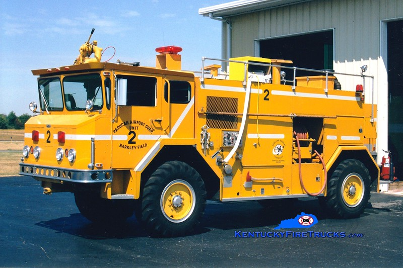<center> RETIRED <br> Barkley Regional Airport  Unit 3 <br> 1976 Walter BDQG 4x4 750/1000/200 <br> Greg Stapleton photo </center>