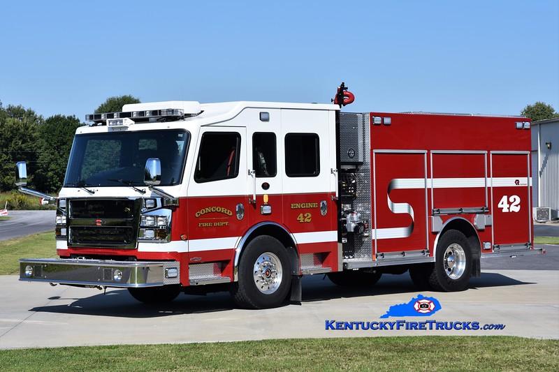 Concord  Engine 42<br /> 2015 Rosenbauer Commander 1500/750/20<br /> Greg Stapleton photo
