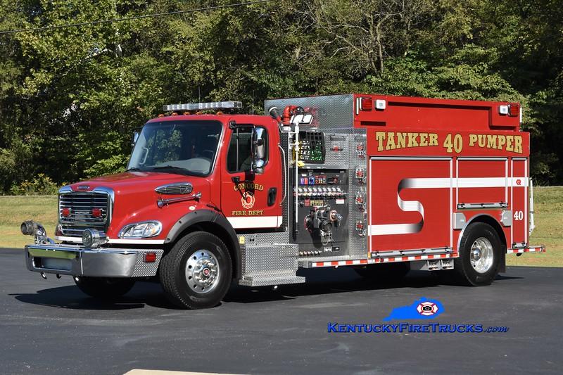 Concord Tanker-Pumper 40<br /> 2010 Freightliner M2-112/Rosenbauer 1500/2000/30<br /> Greg Stapleton photo