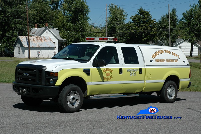 <center> Hendron  Squad 26 <br> 2007 Ford F-250 4x4 <br> Greg Stapleton photo </center>
