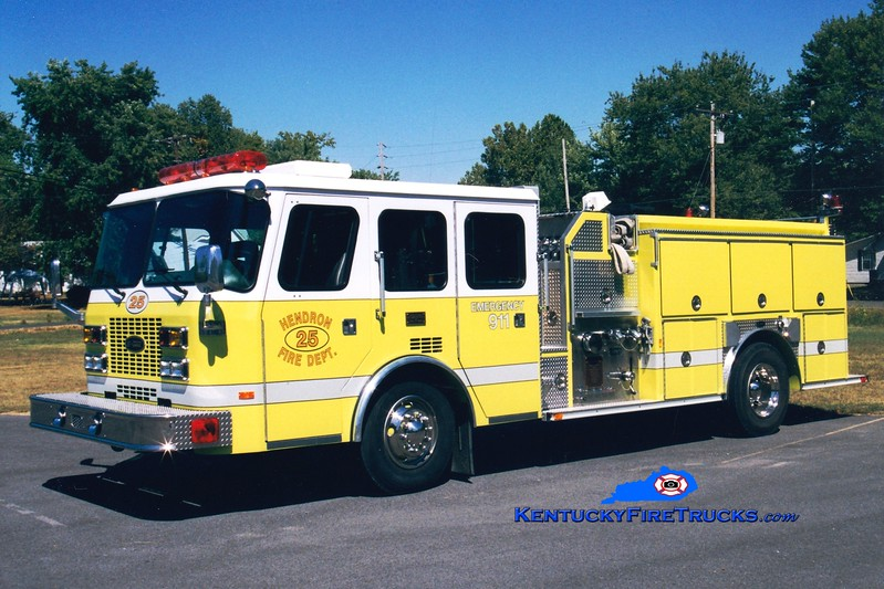 <center> Hendron  Engine 25 <br> 1994 E-One Sentry 1250/1000 <br> Greg Stapleton photo </center>