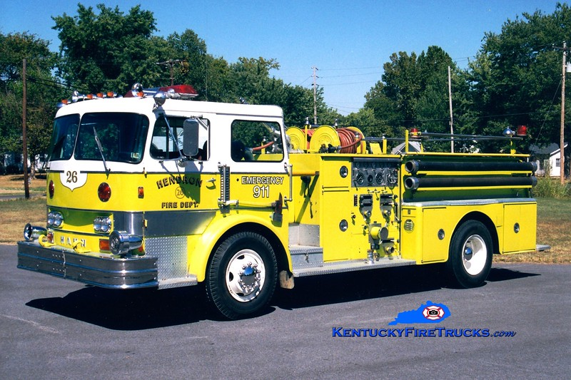 <center> RETIRED <br> Hendron  Engine 263 <br> x-Darby Twp, PA <br> 1968 Hahn 1000/500 <br> Greg Stapleton photo </center>