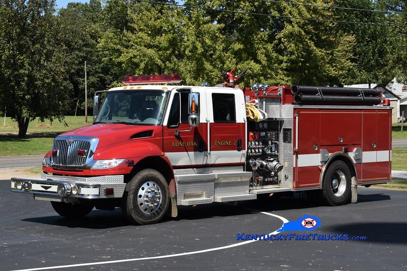 Lone Oak Engine 2<br /> 2005 International 4400/Pierce 1250/1000<br /> Greg Stapleton photo