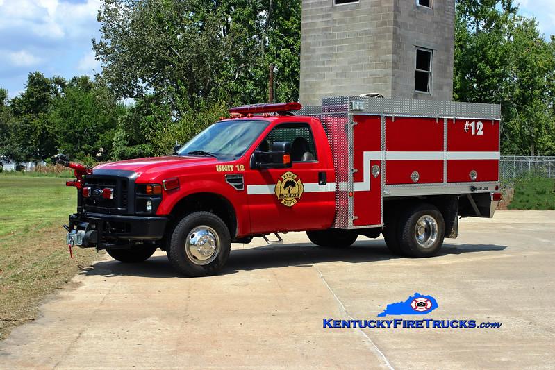 <center> Lone Oak  Unit 12 <br> 2009 Ford F-350 4x4/Alumline/Nichols 250/250/10 <br> Kent Parrish photo </center>