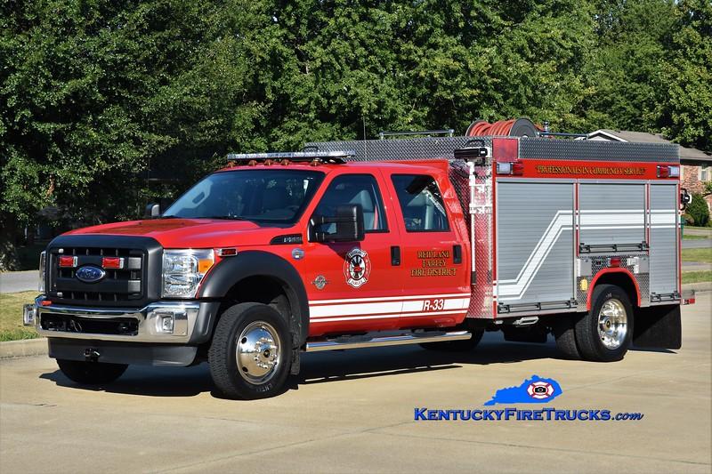 Reidland Farley  Rescue 33<br /> 2014 Ford F-550 4x4/Fouts Bros 250/300/10<br /> Greg Stapleton photo