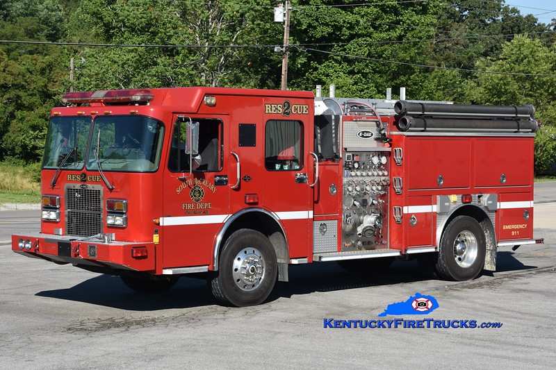 South McCreary Rescue 42 <br /> x-Lincoln, CA<br /> 2003 Spartan Sierra/E-One 1500/650/30<br /> Greg Stapleton photo