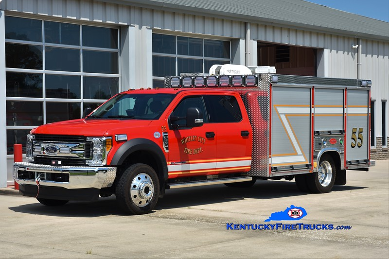 Whitley City  Rescue 55<br /> 2019 Ford F-550 4x4/Deep South<br /> Greg Stapleton photo