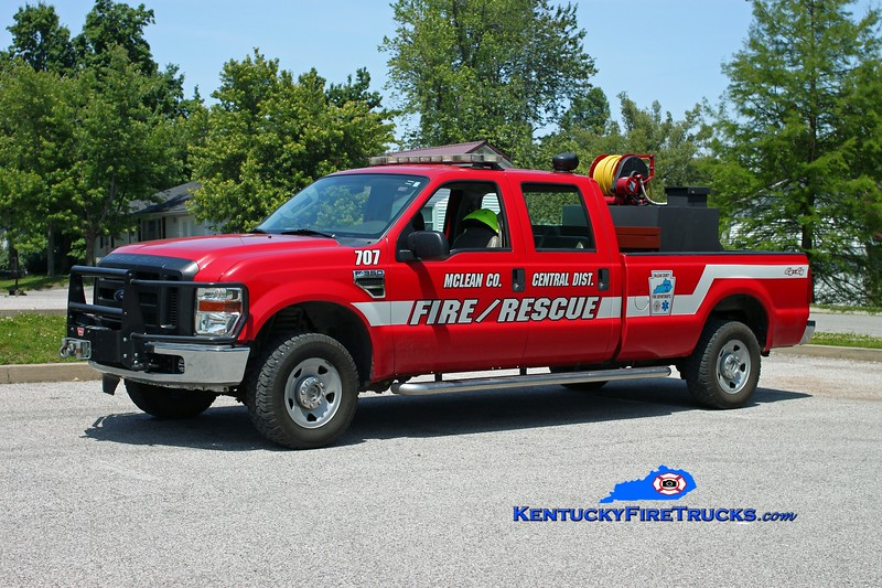 <center> McLean County Central District  Unit 707  <br> 2008 Ford F-250 4x4/FD 1250/200 <br> Kent Parrish photo </center>