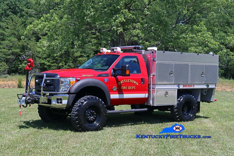 Battletown  Brush 11<br /> 2013 Ford F-550 4x4/KME 250/300/12<br /> Kent Parrish photo