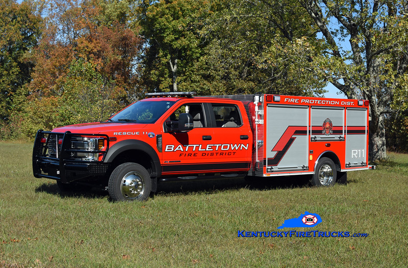 Battetown Rescue 11<br /> 2020 Ford F-550 4x4/Southeast <br /> Kent Parrish photo