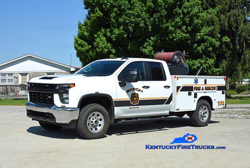 Ekron Truck 74<br /> 2020 Chevy 3500 4x4/Knapheide/Fast Attack 250/250<br /> Kent Parrish photo