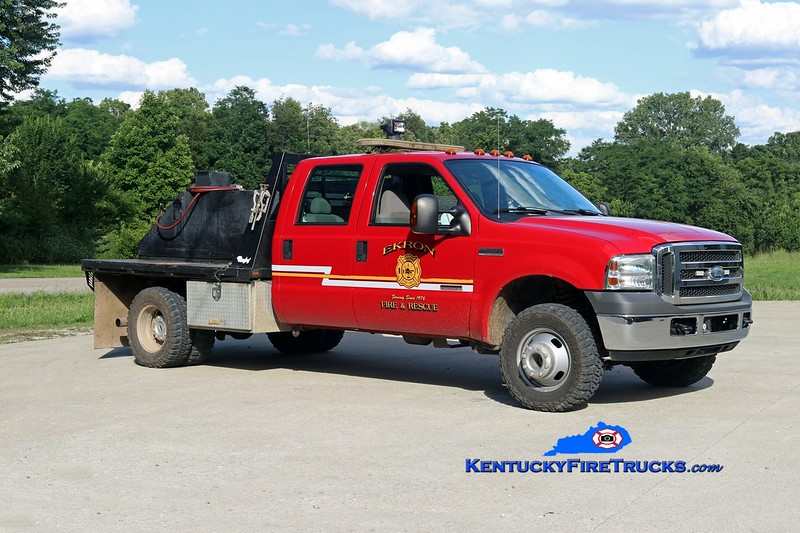 RETIRED <br /> Ekron  Brush 73<br /> 2004 Ford F-350 4x4/Local 250/250<br /> Kent Parrish photo
