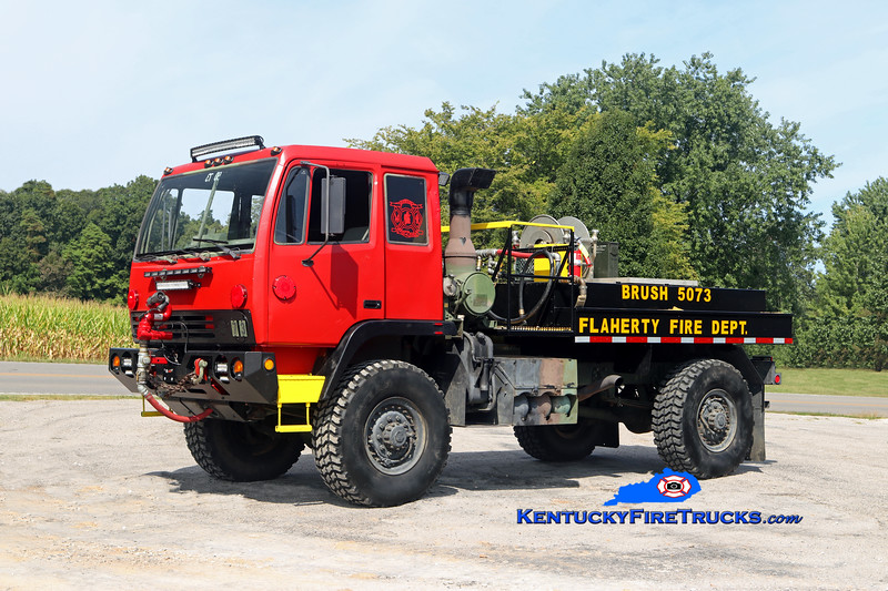Flaherty  Brush 5073<br /> x-US Army<br /> 1998 Stewart & Stevenson M1078 LMTV/2017 FFD 250/750<br /> Kent Parrish photo