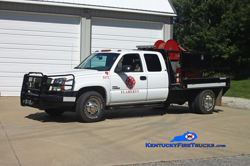 <center> Flaherty  Brush 5172 <br> 2003 Chevy 3500 4x4/FFD 250/250 <br> Kent Parrish photo </center>