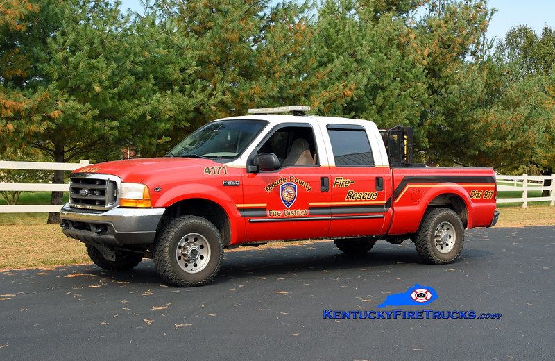 Meade County Brush 4171 <br /> 2000 Ford F-350 4x4/FD 25/50<br /> Kent Parrish photo