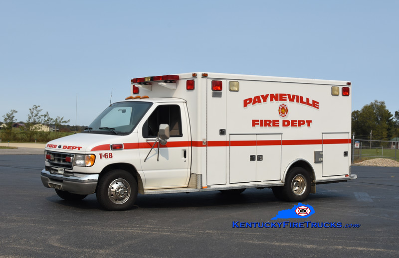 Payneville Rescue 68 <br /> 1998 Ford E-350/Marque <br /> Kent Parrish photo