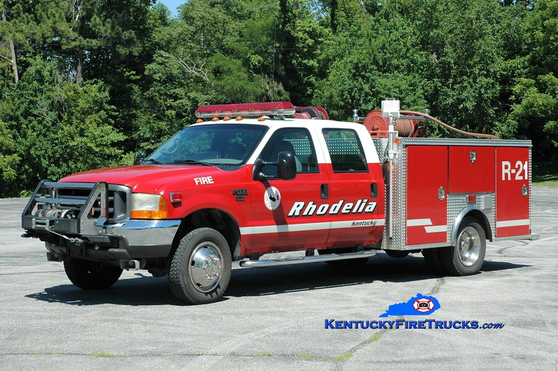 Rhodelia Rescue 21<br /> x-Shepherdsville, KY<br /> 1999 Ford F-550 4x4/EVI 400/300<br /> Greg Stapleton photo