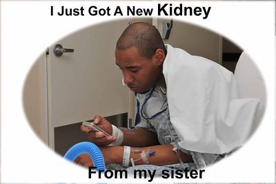 Travons Kidney Transplant