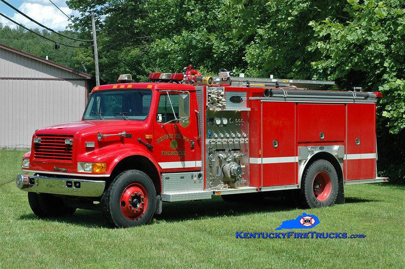 Menifee County  Engine 21<br /> 2004 International 4900/E-One 1250/1000<br /> Greg Stapleton photo