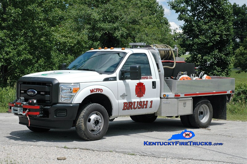 Menifee County  Brush 1<br /> 2015 Ford F-350 4x4/Nafeco 150/250<br /> Greg Stapleton photo