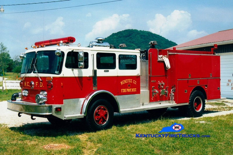 <center> RETIRED <BR> Menifee County  Engine 3 <br> x-Wrightsville, PA <br> 1979 Duplex/Darley 1250/1000 <br> Greg Stapleton photo <br> </center>