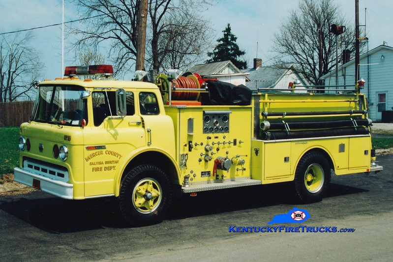 <center> RETIRED <br> Salvisa  Engine 18 <br> 1976 Ford C/Jaco 750/750 <br> Greg Stapleton photo </center>