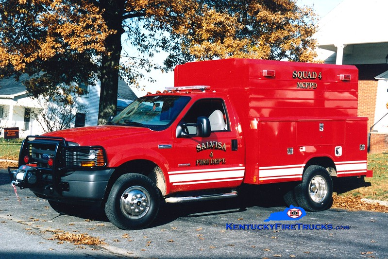 <center> Salvisa  Squad 4 <br> 2005 Ford F-350 4x4/Reading <br> Greg Stapleton photo </center>