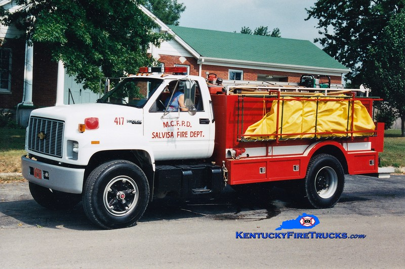 RETIRED <br /> Salvisa  Tanker 417<br /> 1994 Chevy Kodiak/Montgomery 250/2000<br /> Greg Stapleton photo