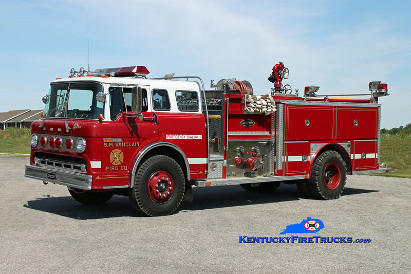 <center> RETIRED <br> Edmonton  Engine 3 <br> x-Ridley Twp, PA <br> 1981 Ford C-8000/E-One 1250/750 <br> Kent Parrish photo </center>