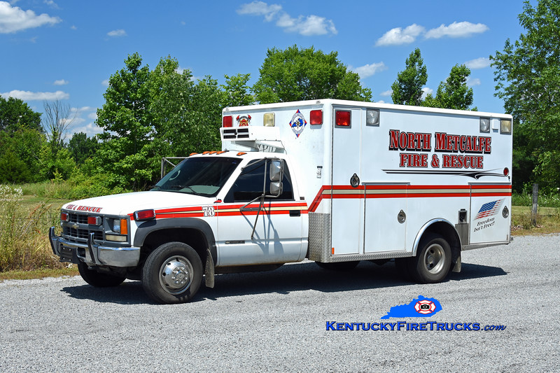 North Metcalfe Rescue 78<br /> 1995 Chevy 3500 4x4/Wheeled Coach<br /> Kent Parrish photo