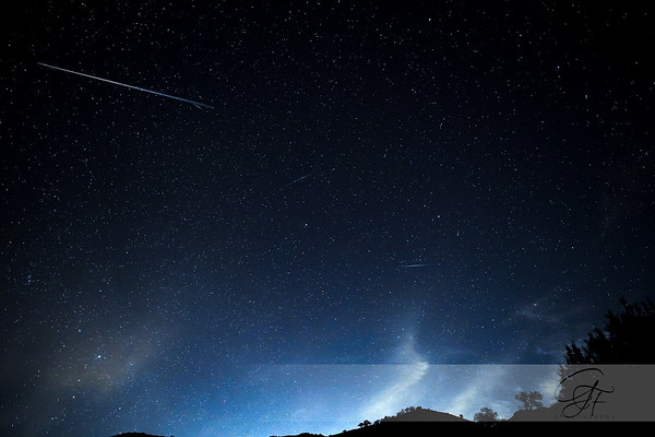 2019 Quadrantids Meteor Shower Composite