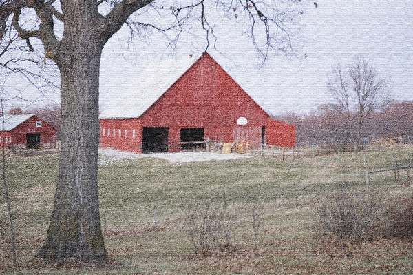 Thompsons' barn<br /> <br /> P332