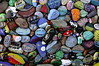 Painted rocks<br /> Moclips, Washington<br /> <br /> P148