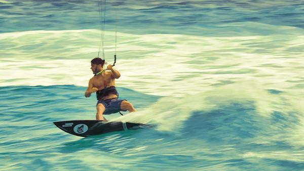 Kite Surfer Action