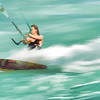 Kite Surfer Action