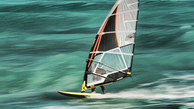 Windsurfer Action