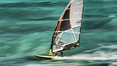 Windsurfer Action
