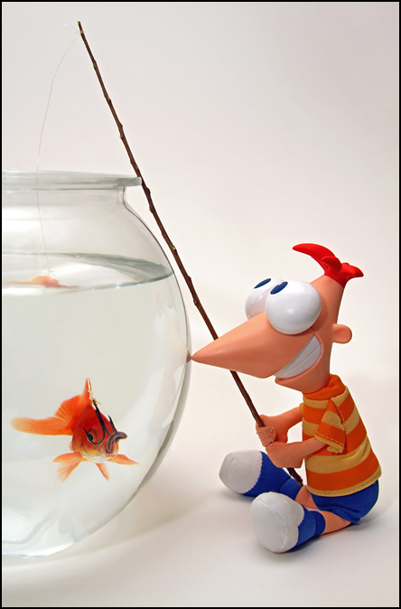 Phineas Goes Fishing