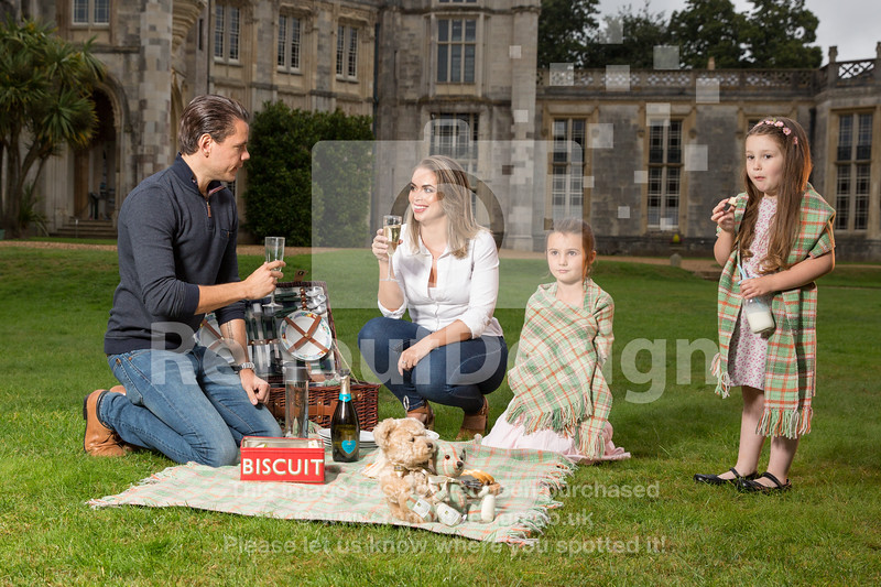 Family Picnic with New Forest Tartan - 77